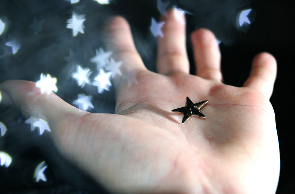 How do you stop a sparkling star from melting like a snowflake?
